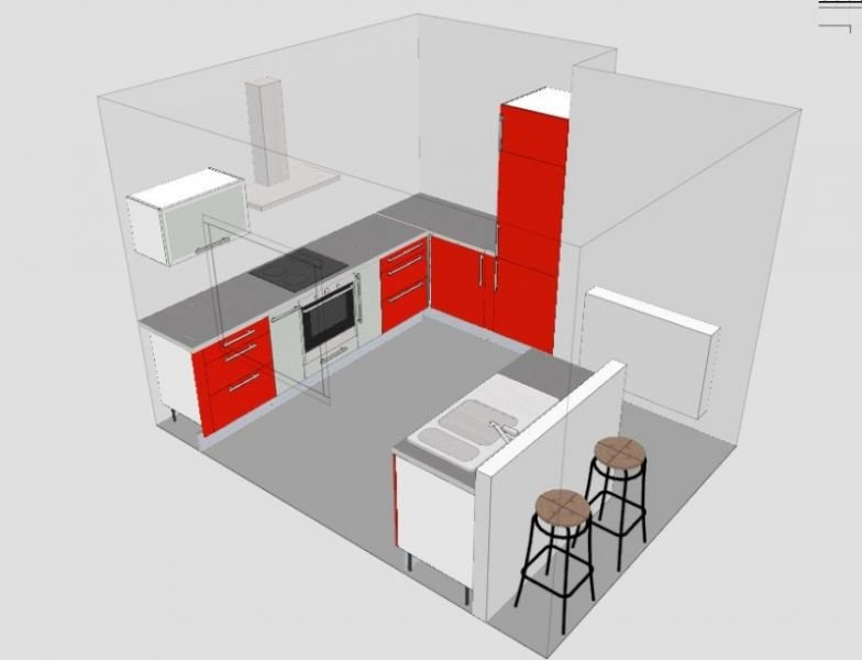 Ikea cuisine 3d windows 10 pr l vement d for Cuisine ikea sweet home 3d