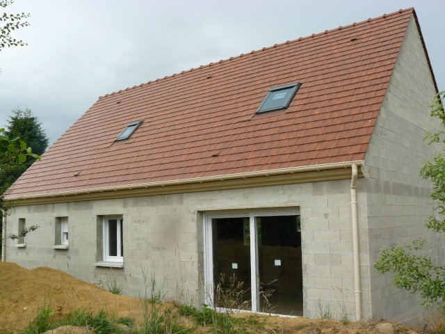 7 hors d air notre construction for Constructeur de maison hors d eau hors d air